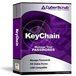 KeyChain Password Manager Box