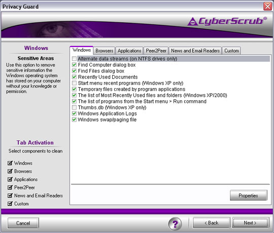 CyberScrub Privacy Suite Professional Edition 5 0 0 126 h33tt00_h0t preview 1